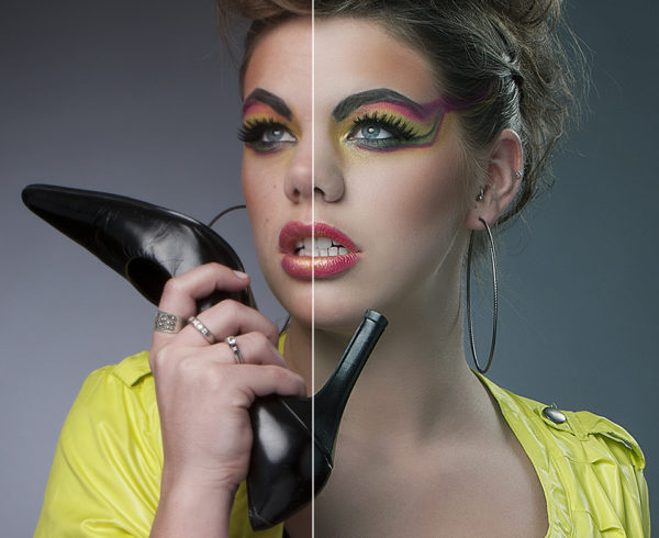 Beauty Retouch For Magazine