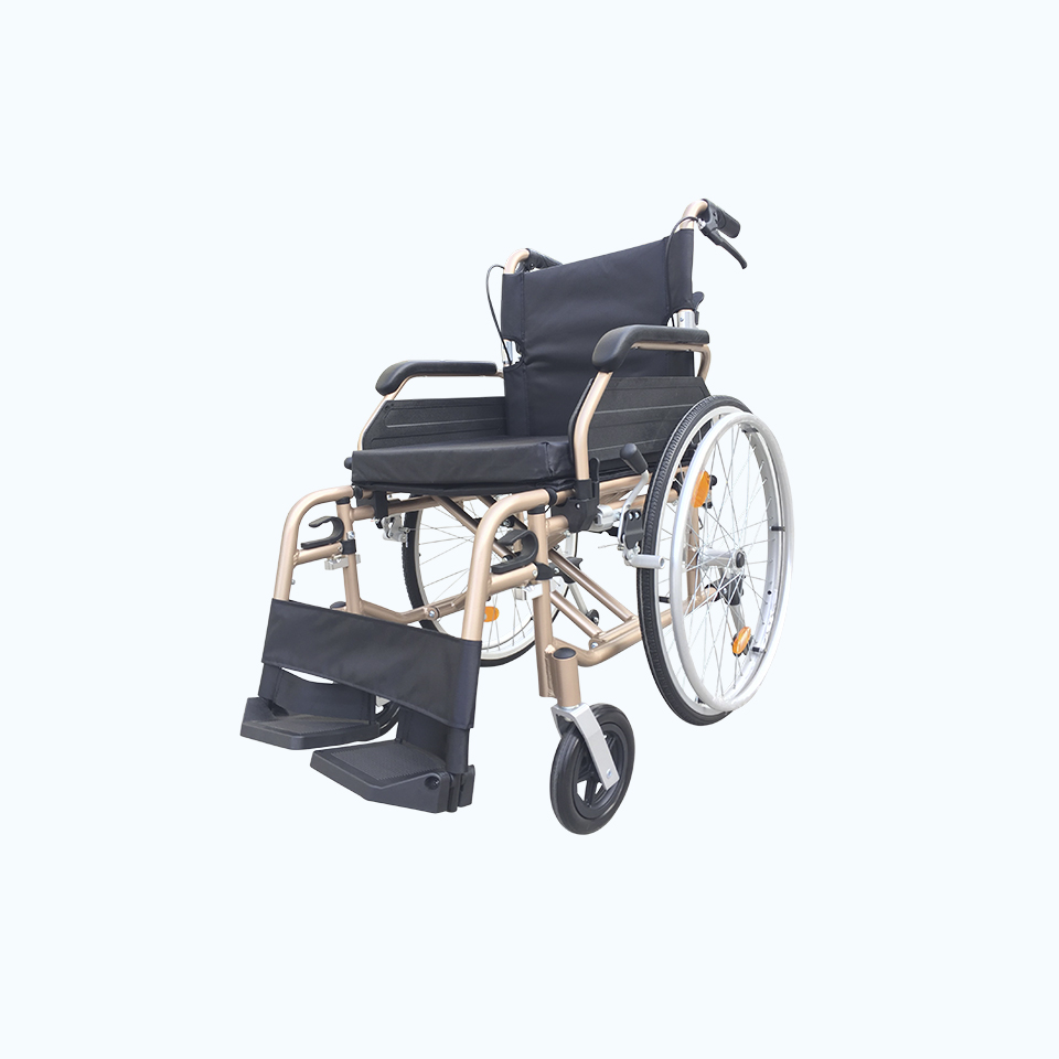 isolated Wheel Chair