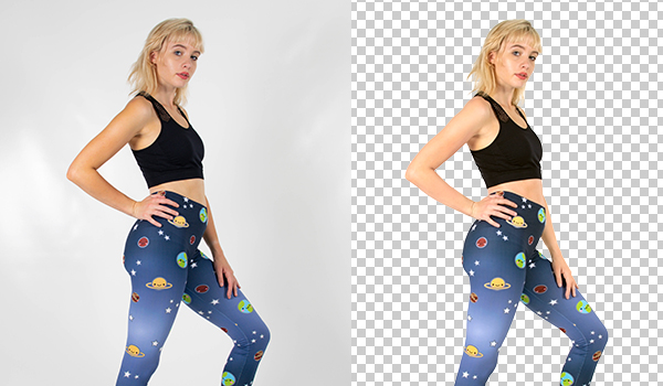 E-commerce product photo background removal